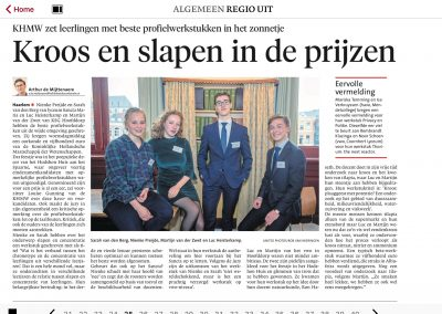Haarlems Dagblad 13 april 2017